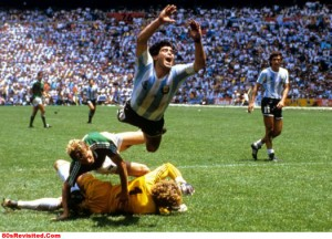 Soccer - World Cup Mexico 1986 - Final - Argentina v West Germany